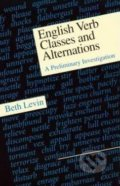 English Verb Classes and Alternations - Beth Levin