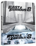 Rychle a zběsile 8 Steelbook - F. Gary Gray