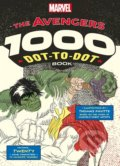 The Avengers 1000 Dot-to-Dot Book - Thomas Pavitte