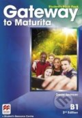 Gateway to Maturita B1: Student's Book Pack - David Spencer