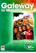 Gateway to Maturita B1+: Student's Book Pack - David Spencer