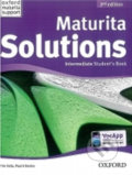 Maturita Solutions 2nd Edition Intermediate Student´s Book - Tim Falla, Paul Davies