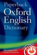 Paperback Oxford English Dictionary -