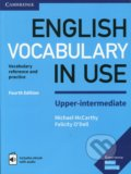 English Vocabulary in Use Upper-Intermediate: Vocabulary reference and practice - Michael McCarthy, Felicity O'Dell