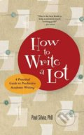 How to Write a Lot - Paul Silvia