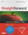 Straightforward - Intermediate - Student's Book + eBook - Philip Kerr, Ceri Jones