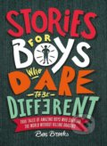 Stories for Boys Who Dare to be Different - Ben Brooks, Quinton Winter (ilustrácie)