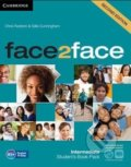 Face2Face: Intermediate - Student's Book with Online Workbook Pack (Chris Redsto - Chris Redston, Gillie Cunningham, Nicholas Tims