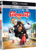 Ferdinand Ultra HD Blu-ray - Carlos Saldanha, Cathy Malkasian, Jeff McGrath