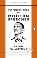 The Penguin Book of Modern Speeches - Brian MacArthur