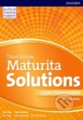Maturita Solutions - Upper-Intermediate - Student's Book - Paul A. Davies, Tim Falla