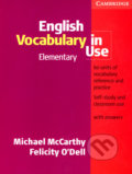 English Vocabulary in Use - Elementary - Michael McCarthy, Felicity O´Dell