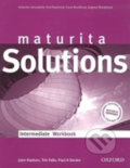 Maturita Solutions Intermediate - WorkBook - Paul Davies