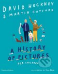 A History of Pictures for Children - David Hockney, Martin Gayford, Rose Blake (ilustrácie)