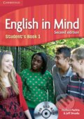 English in Mind 1: Student's Book with DVD-ROM - Herbert Puchta, Jeff Stranks