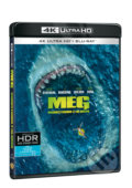 Meg: Monstrum z hlubin Ultra HD Blu-ray - Jon Turteltaub