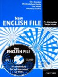 New English File - Pre-intermediate Teacher's book + Test and Assessment CD-ROM - Kolektiv autorů