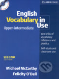 English Vocabulary in Use - Upper-intermediate + CD - Michael McCarthy, Felicity O´Dell
