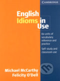 English Idioms in Use - Michael McCarthy, Felicity O´Dell