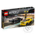 LEGO Speed Champions 75893 2018 Dodge Challenger SRT Demon a 1970 Dodge Charger R/T -