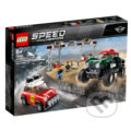 LEGO Speed Champions 75894 1967 Mini Cooper S Rally a 2018 MINI John Cooper Works Buggy -