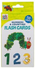 Numbers and Counting Flash Cards - Eric Carle (ilustrácie)