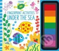 Fingerprint Activities: Under the Sea - Fiona Watt, Candice Whatmore (ilustrácie)