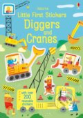 Little first stickers Diggers and Cranes - Hannah Watson, Joaquin Camp (Ilustrátor)