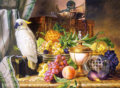 "Kópia: ""Still Life with Fruit and a Cockatoo"" -"