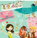 Family Planner Girls & Boys (816 little reminder stickers. Super magnetic hanger) -