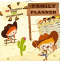 Family Planner Cowboys (816 little reminder stickers. Super magnetic hanger) -