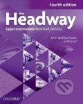 New Headway - Upper-Intermediate Workbook with key (without iChecker CD-ROM) - John Soars, Liz Soars