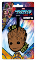 Visačka na batoh Guardians of The Galaxy: I Am Groot -