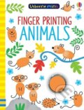 Finger Printing Animals - Sam Smith, Jenny Addison (ilustrácie)