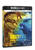 Godzilla II Král monster Ultra HD Blu-ray - Michael Dougherty