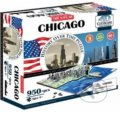 4D City Puzzle Chicago -