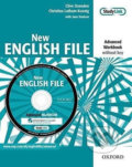 New English File Advanced Workbook Without Key + MultiRom Pack -