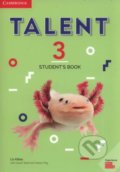 Talent Level 3 - Student´s Book - Liz Kilbey