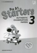Pre A1 Starters 3 Answer Booklet -