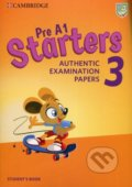 Pre A1 Starters 3 - Student's Book -