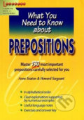 Prepositions: What You Need to Know about - Kolektiv autorů