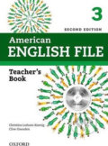 American English File 3: Teacher's Book with Testing Program CD-ROM - Christina Latham-Koenig, Clive Oxenden