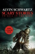Scary Stories to Tell in the Dark - Alvin Schwartz, Stephen Gammell (ilustrácie)