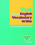 Test your English Vocabulary in Use - Stuart Redman