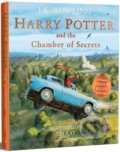 Harry Potter and the Chamber of Secrets - J.K. Rowling, Jim Kay (ilustrácie)
