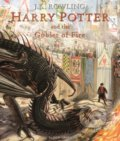 Harry Potter and the Goblet of Fire - J.K. Rowling, Jim Kay (ilustrácie)