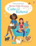Sticker Dolly Dressing Cats and Kittens - Lucy Bowman, Antonia Miller (ilustrácie)