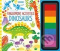 Fingerprint Activities: Dinosaurs - Fiona Watt, Candice Whatmore (ilustrácie)