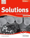 Solutions: Pre-intermediate - Workbook - Paul A. Davies, Tim Falla