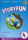 Storyfun 4: Teacher's Book with Audio - Karen Saxby, Emily Hird